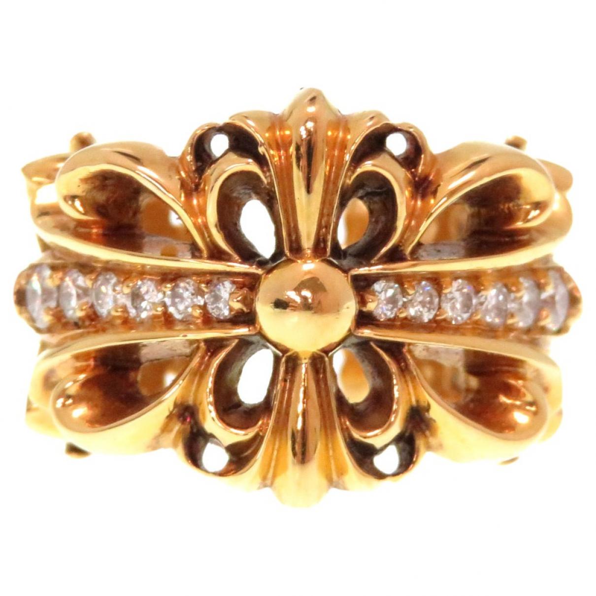 Chrome Hearts - Bague   pour femme en or jaune - dore