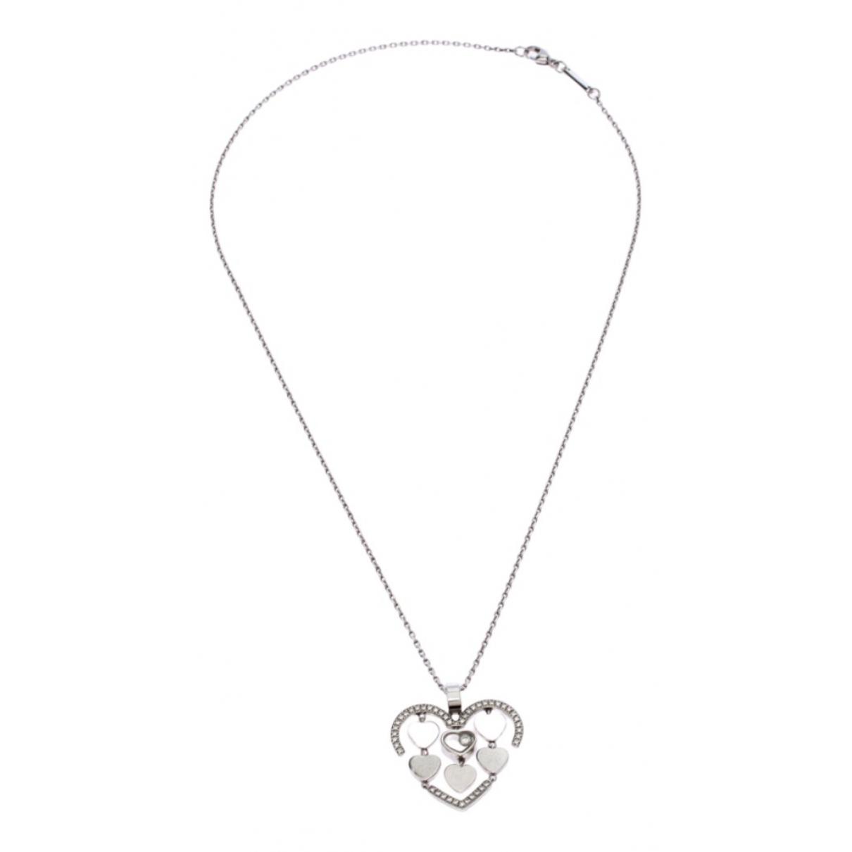 Collar Happy Diamonds de Oro blanco Chopard