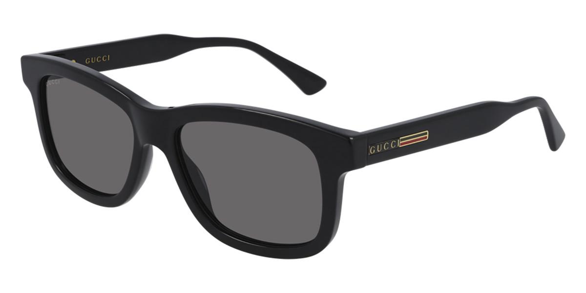 Gucci GG0824S 001 Mens Sunglasses Black Size 53 - Free RX Lenses