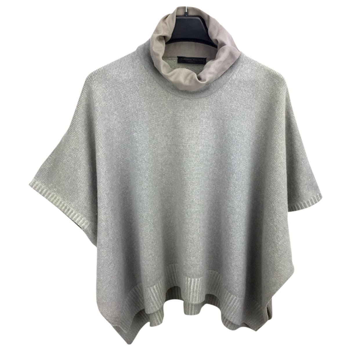 Fabiana Filippi - Pull   pour femme en cachemire - gris