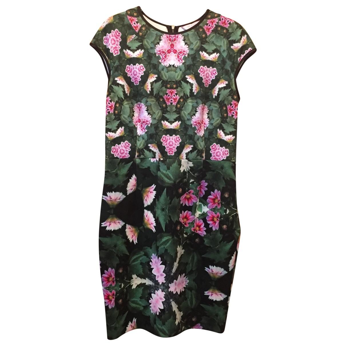 Ted Baker \N Kleid in  Gruen Polyester