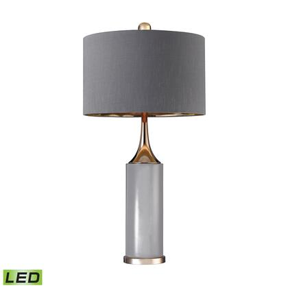 D2749-LED Tall Gold Cone Neck LED Lamp  In