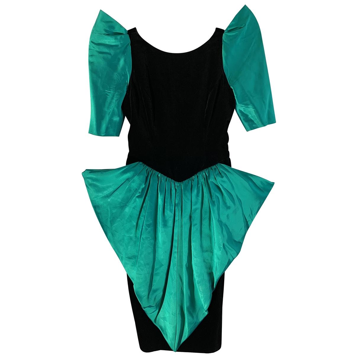 Pierre Balmain - Robe   pour femme en velours - multicolore