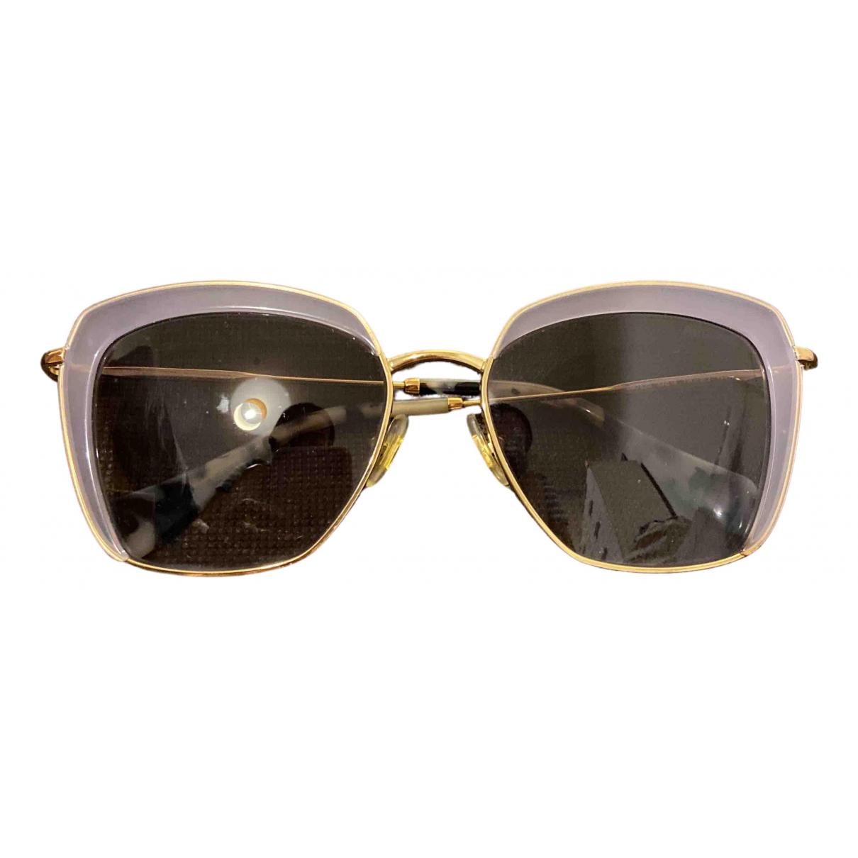 Miu Miu \N Purple Metal Sunglasses for Women \N