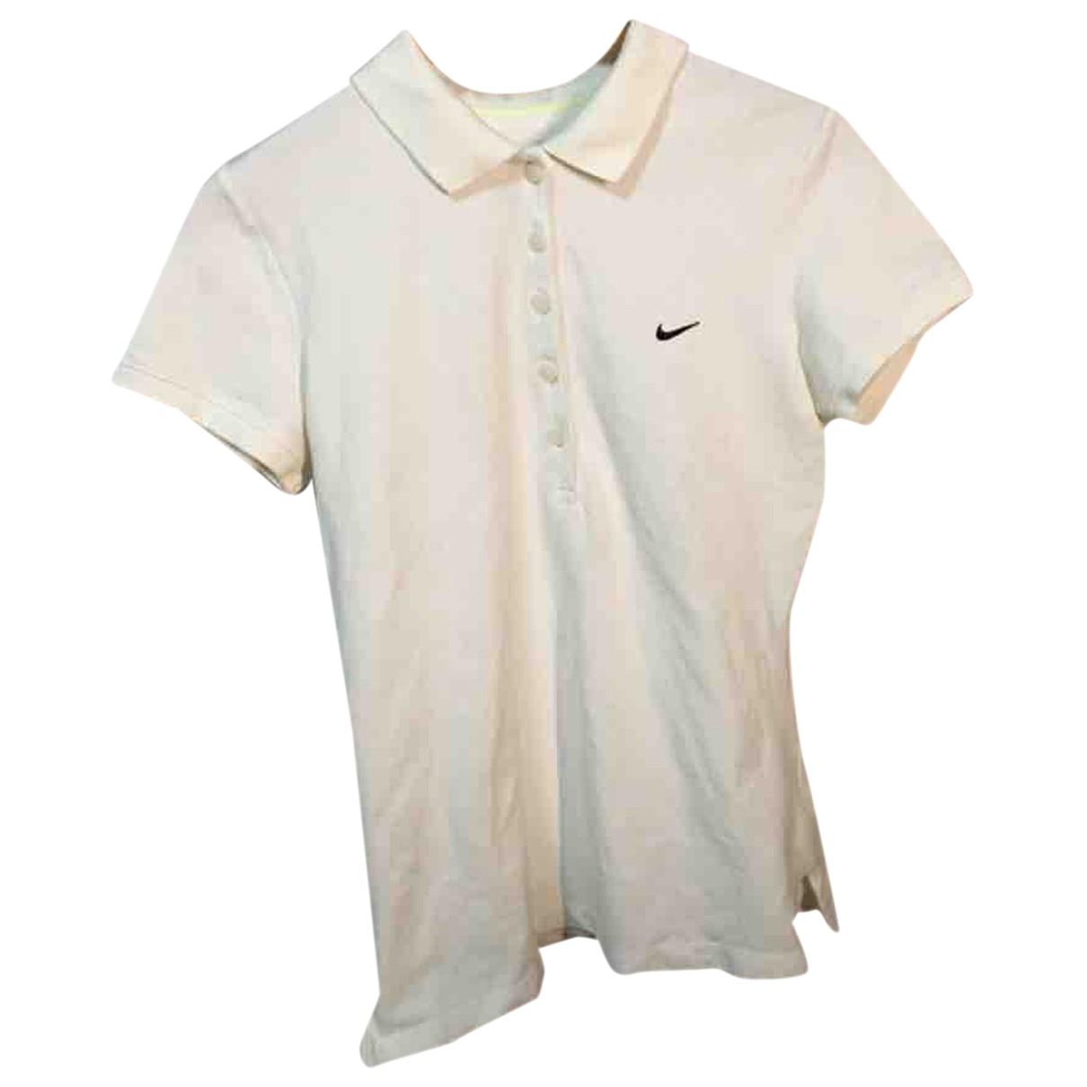 Polo en Algodon Blanco Nike