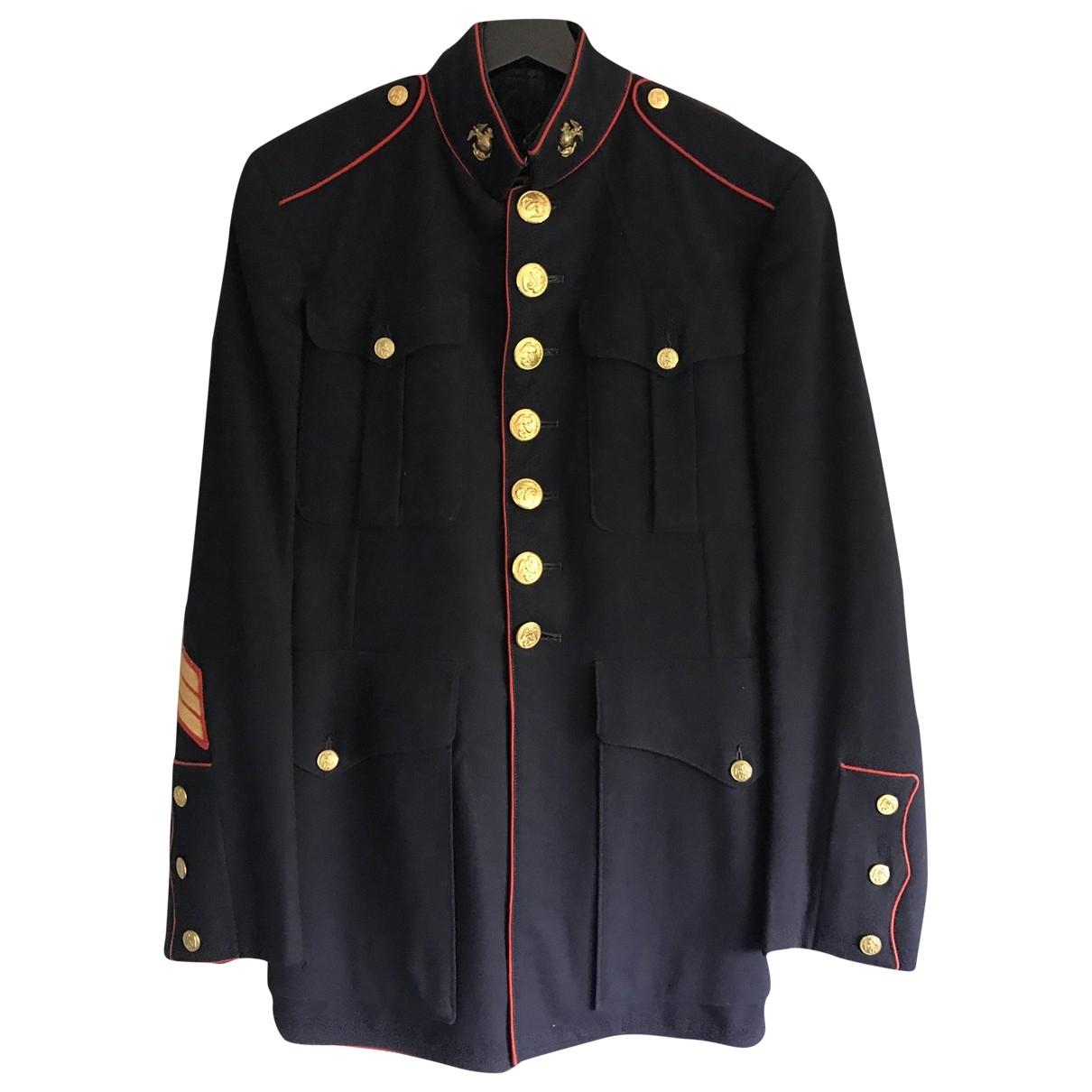 Non Signé / Unsigned \N Blue Cotton jacket  for Men M International