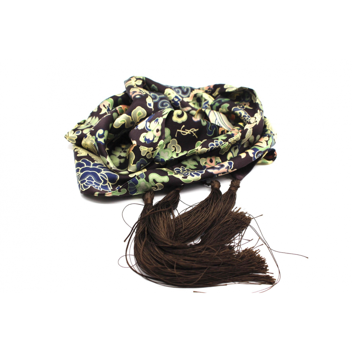Saint Laurent N Silk scarf for Women N