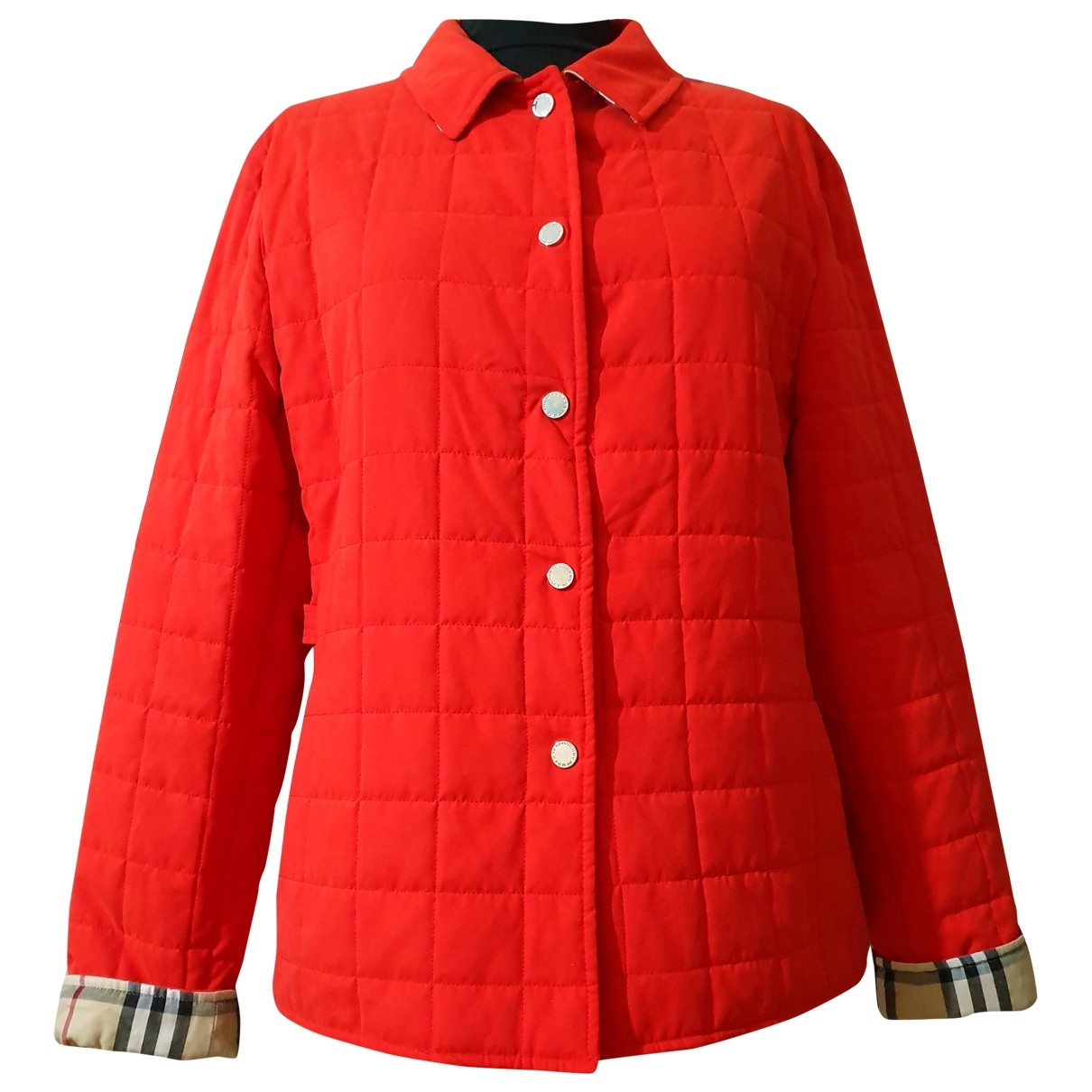 Burberry \N Red jacket for Women 44 IT