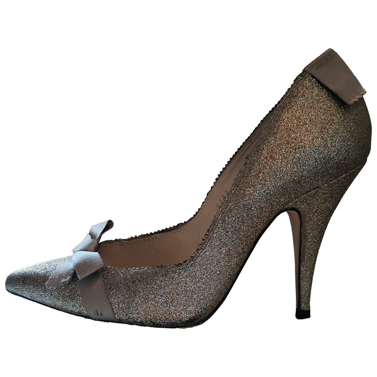 Pedro Garcia \N Metallic Glitter Heels for Women 38.5 EU