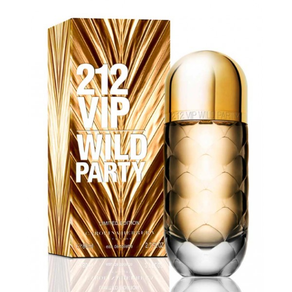 Carolina Herrera - 212 Vip Wild Party : Eau de Toilette Spray 2.7 Oz / 80 ml
