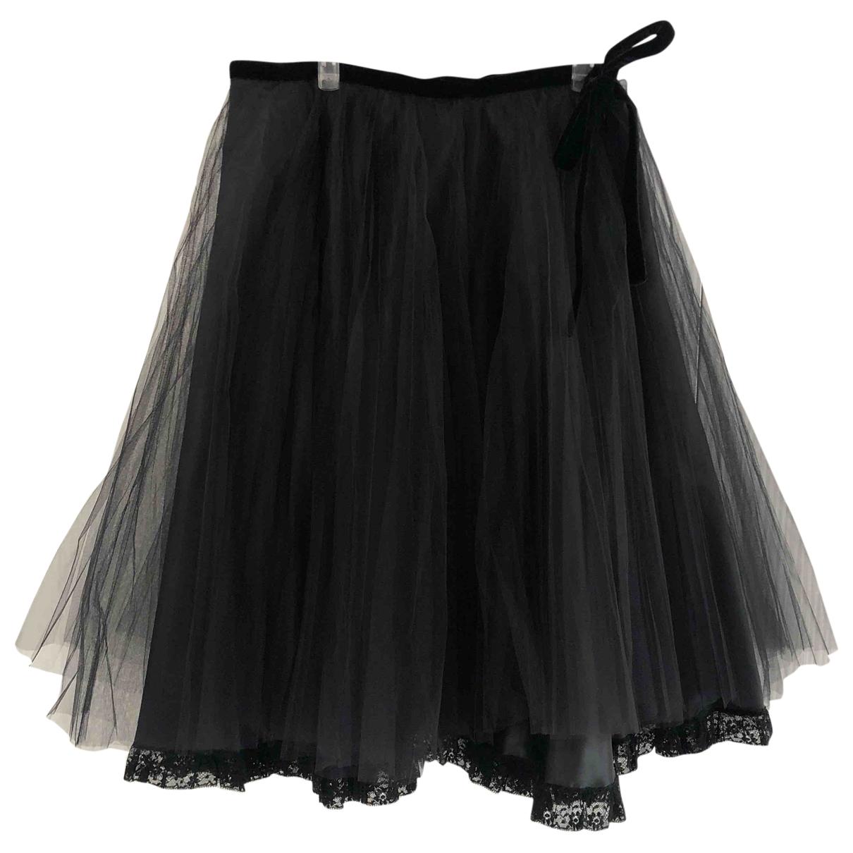 Red Valentino Garavani \N Black skirt for Women 44 IT