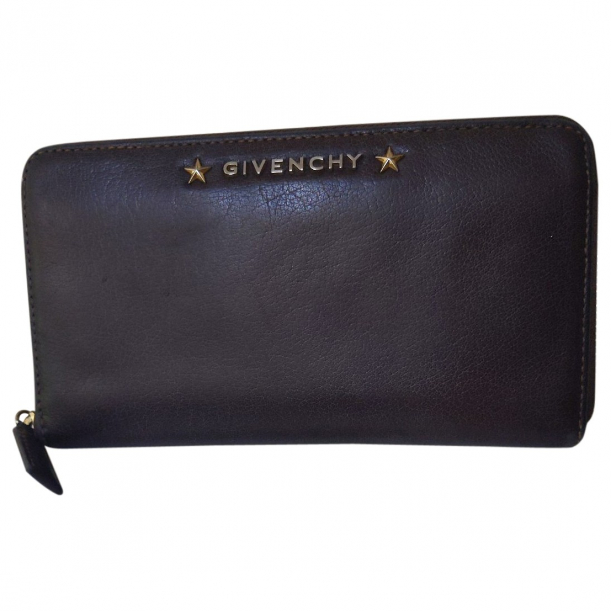 Givenchy \N Brown Leather wallet for Women \N