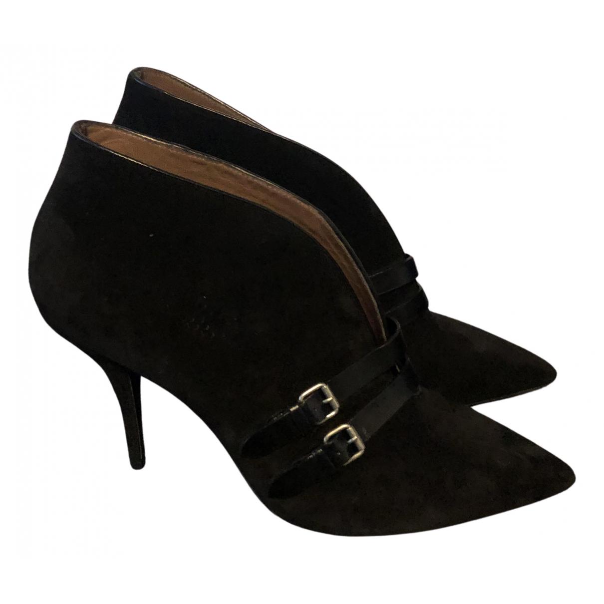 Tabitha Simmons \N Stiefel in  Schwarz Leder