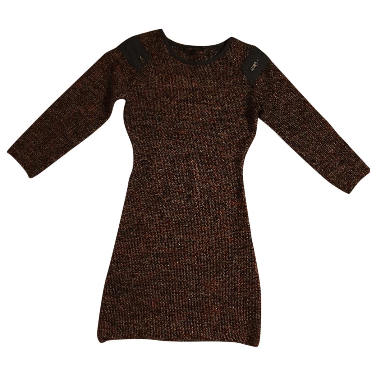 Maje - Robe Fall Winter 2019 pour femme en laine - bordeaux