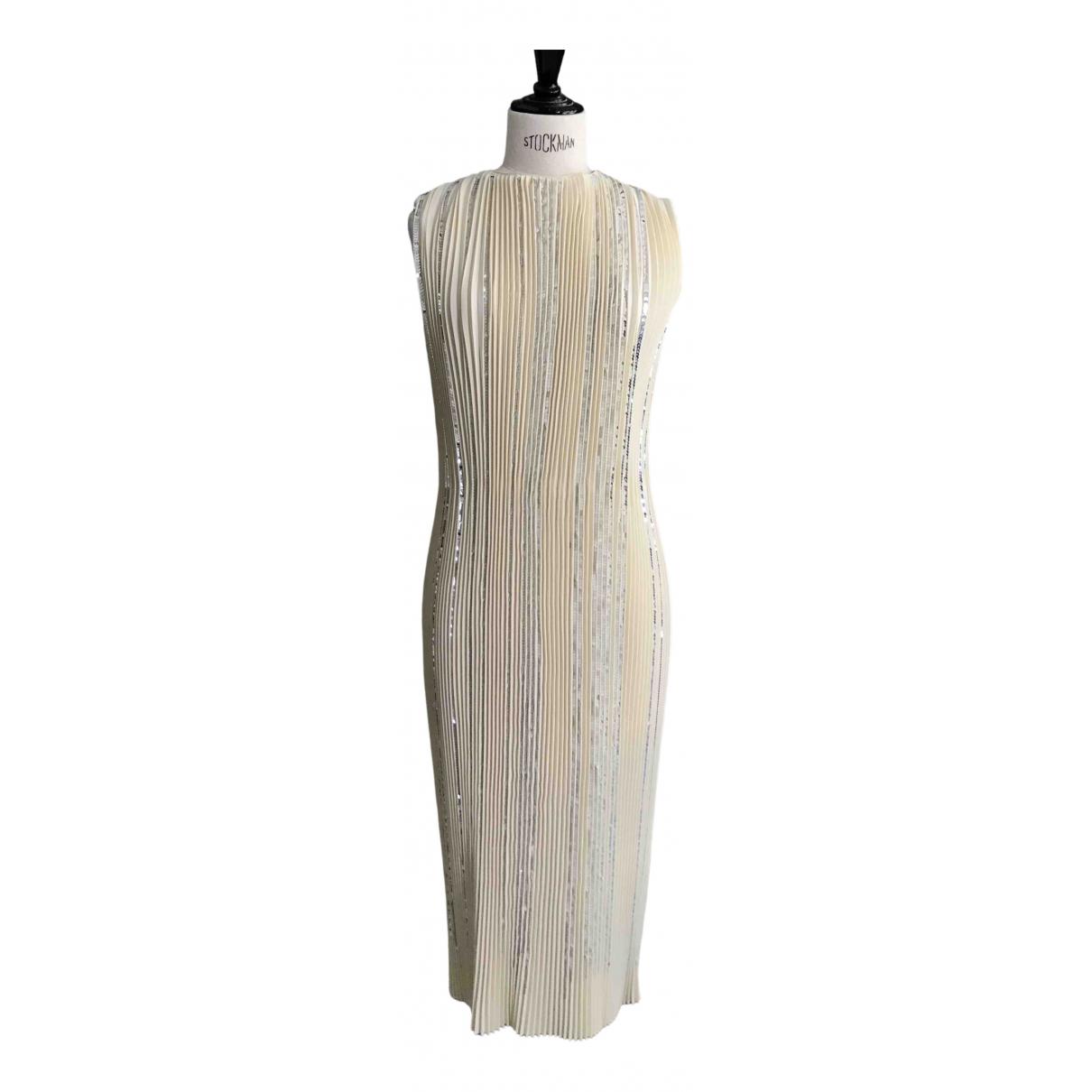 Nina Ricci \N Ecru dress for Women 34 FR