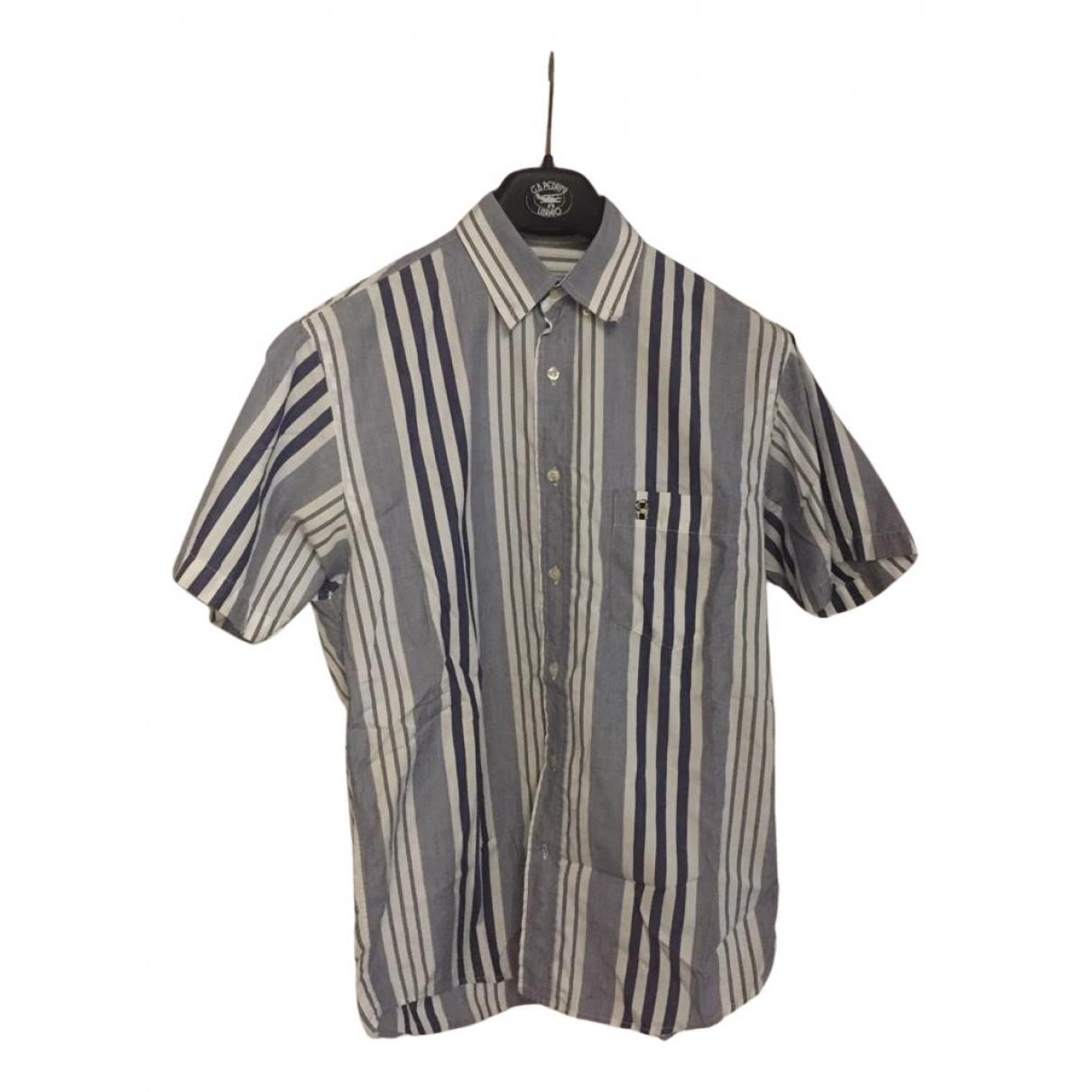 Valentino Garavani N Blue Cotton Shirts for Men 39 EU (tour de cou / collar)