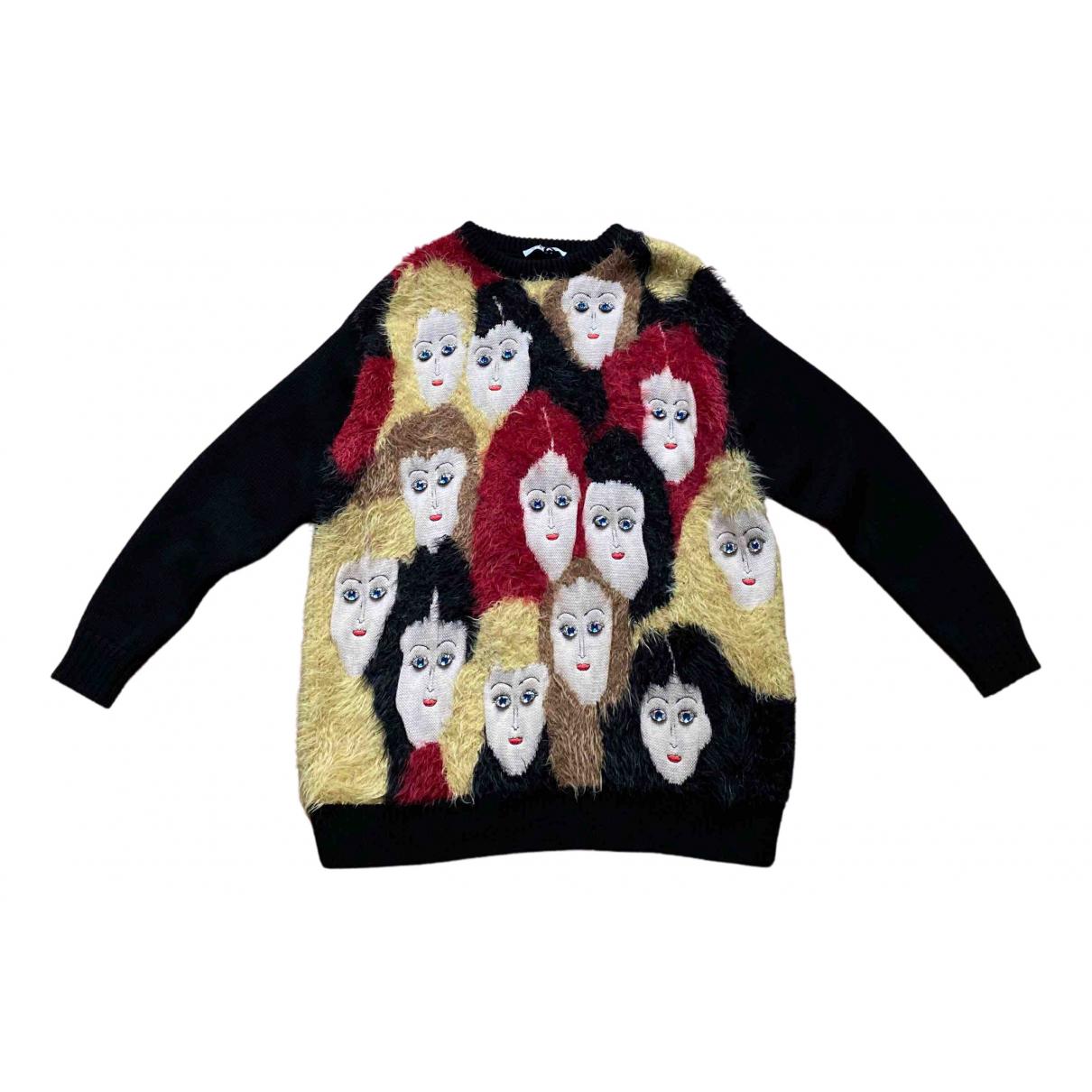 Vivetta \N Pullover in  Schwarz Wolle