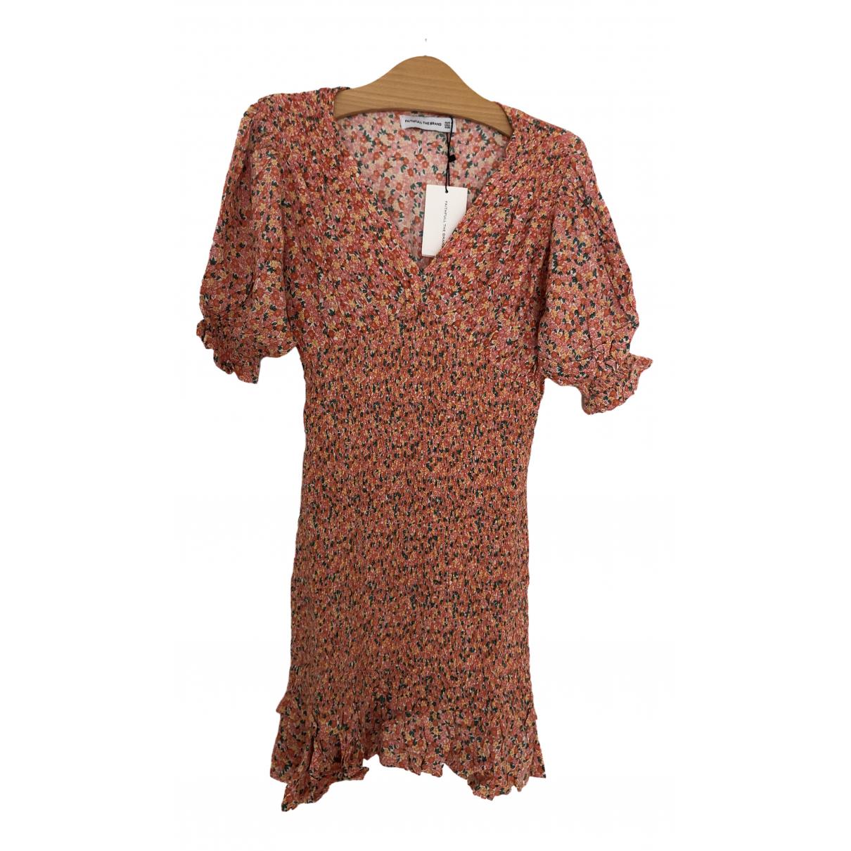 Faithfull The Brand \N Multicolour Cotton dress for Women S International