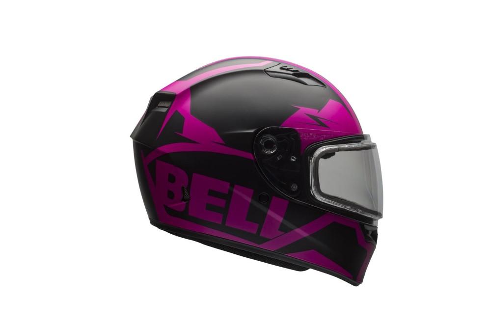 Bell Racing 7076188 Qualifier Snow Helmet w/ Electric Shield
