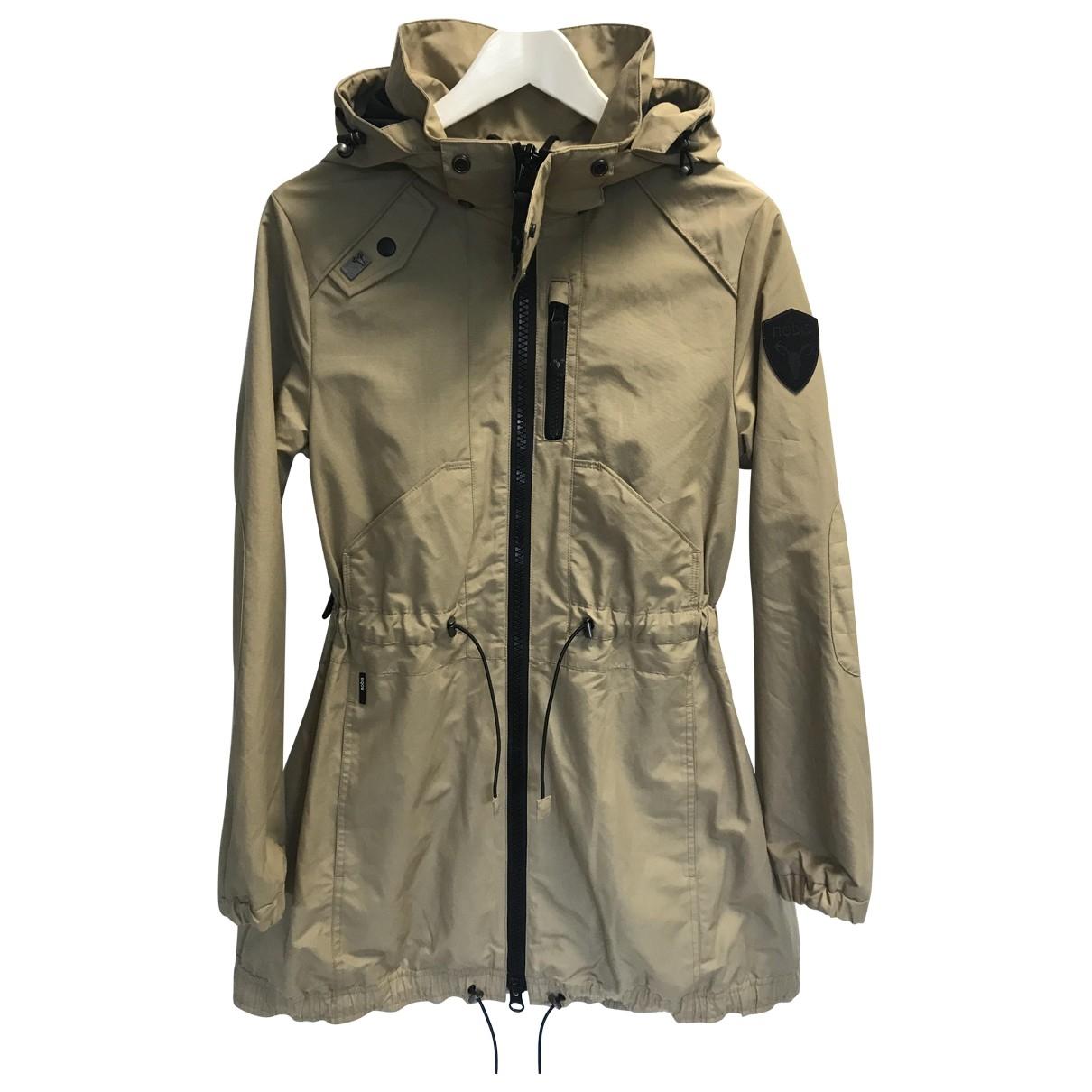 Nobis \N Camel Cotton jacket for Women S International