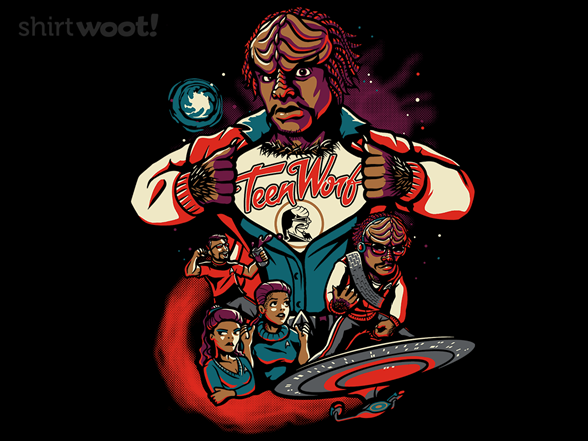 Teen Worf T Shirt