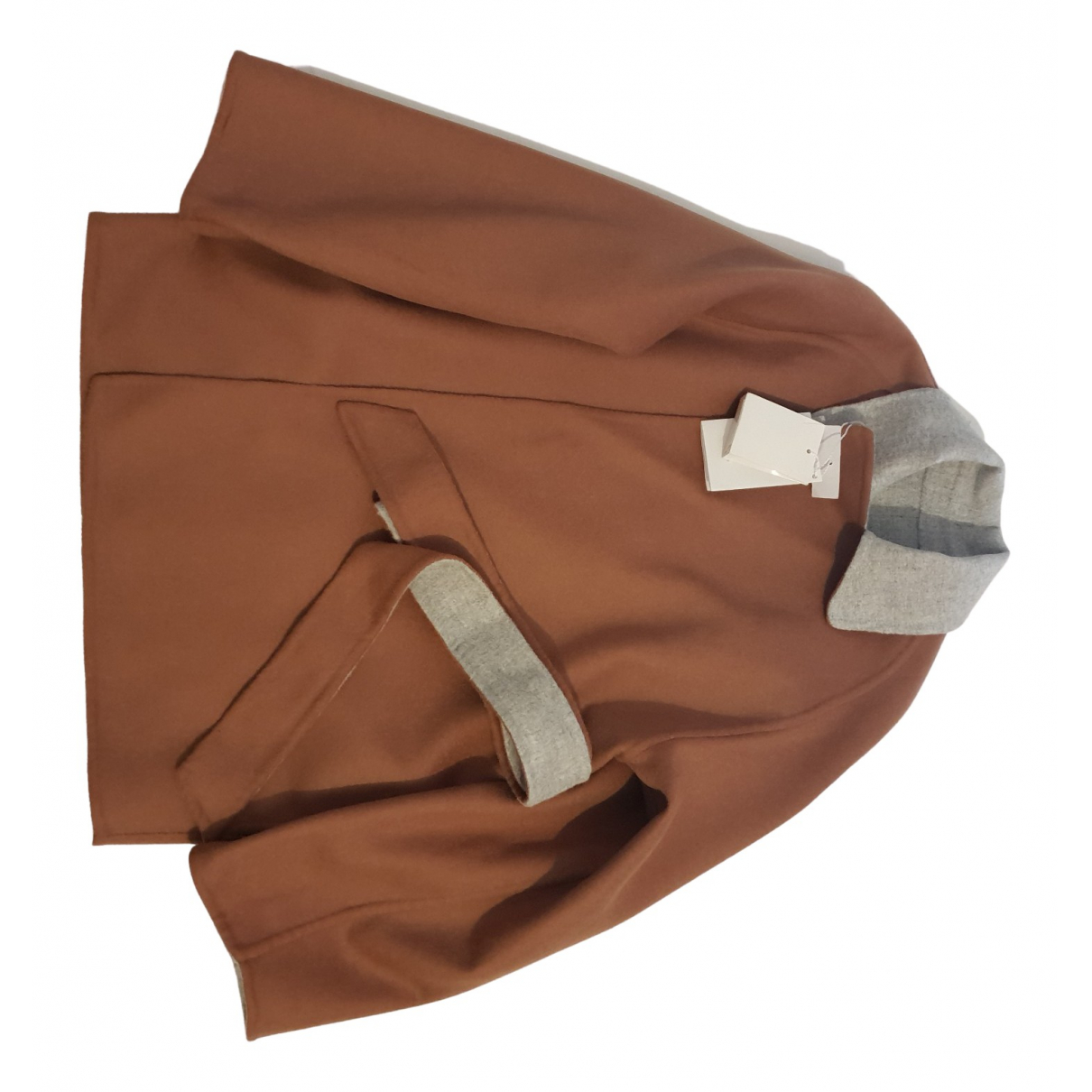 Max Mara \N Camel Wool coat for Women 36 IT