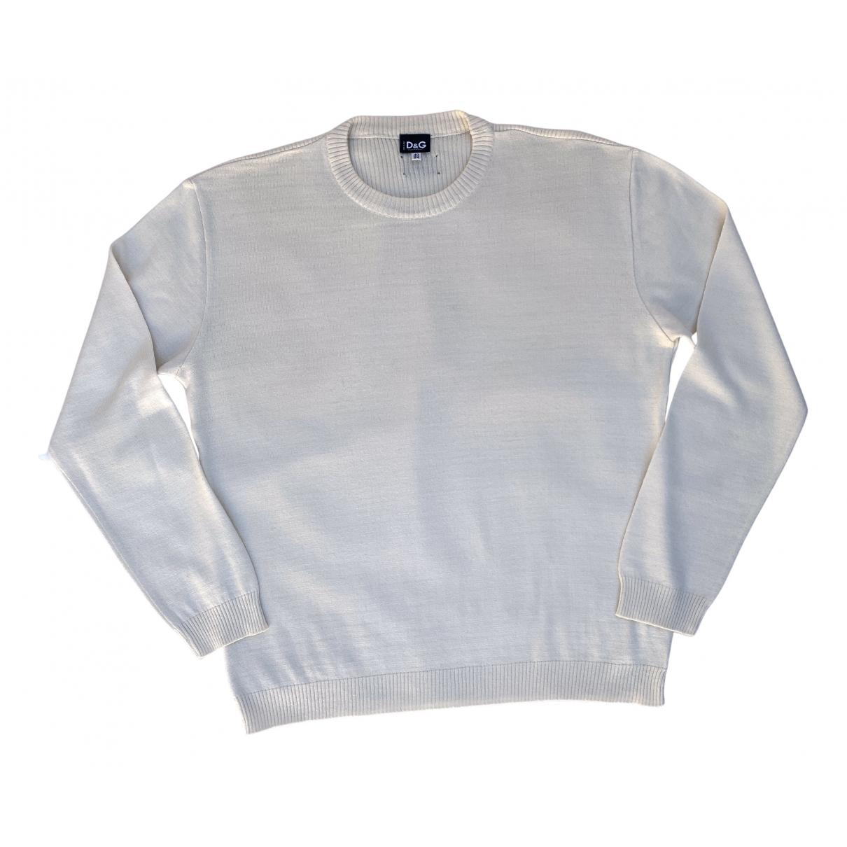 D&g \N Pullover.Westen.Sweatshirts  in  Beige Wolle