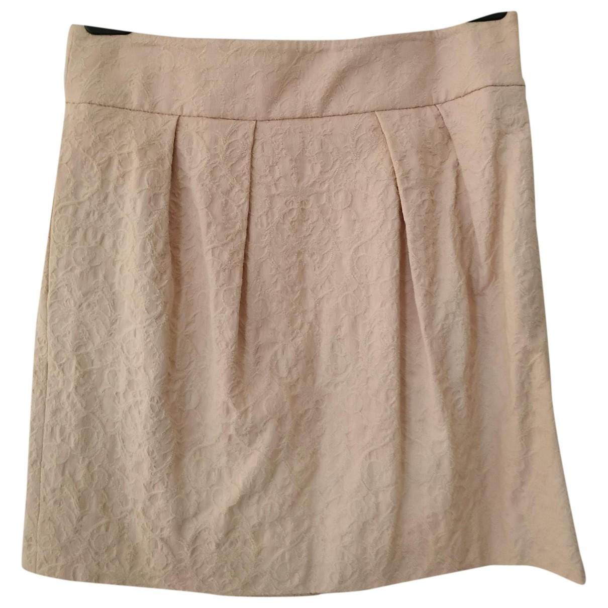 Zara \N Beige Cotton skirt for Women S International