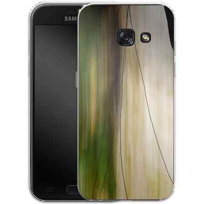 Samsung Galaxy A3 (2017) Silikon Handyhuelle - Breathe von Joy StClaire