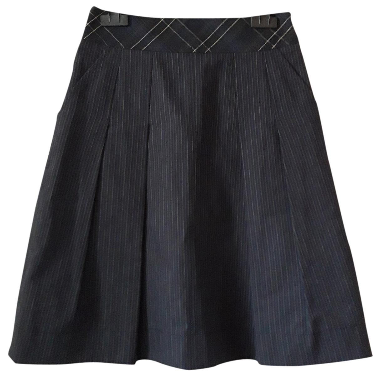 Kenzo - Jupe   pour femme en coton - bleu
