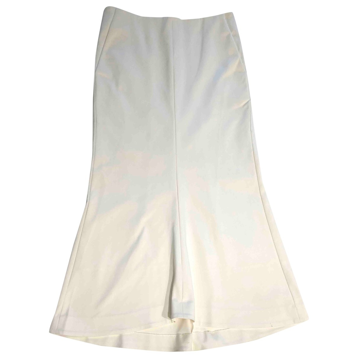 Tibi - Jupe   pour femme en coton - blanc