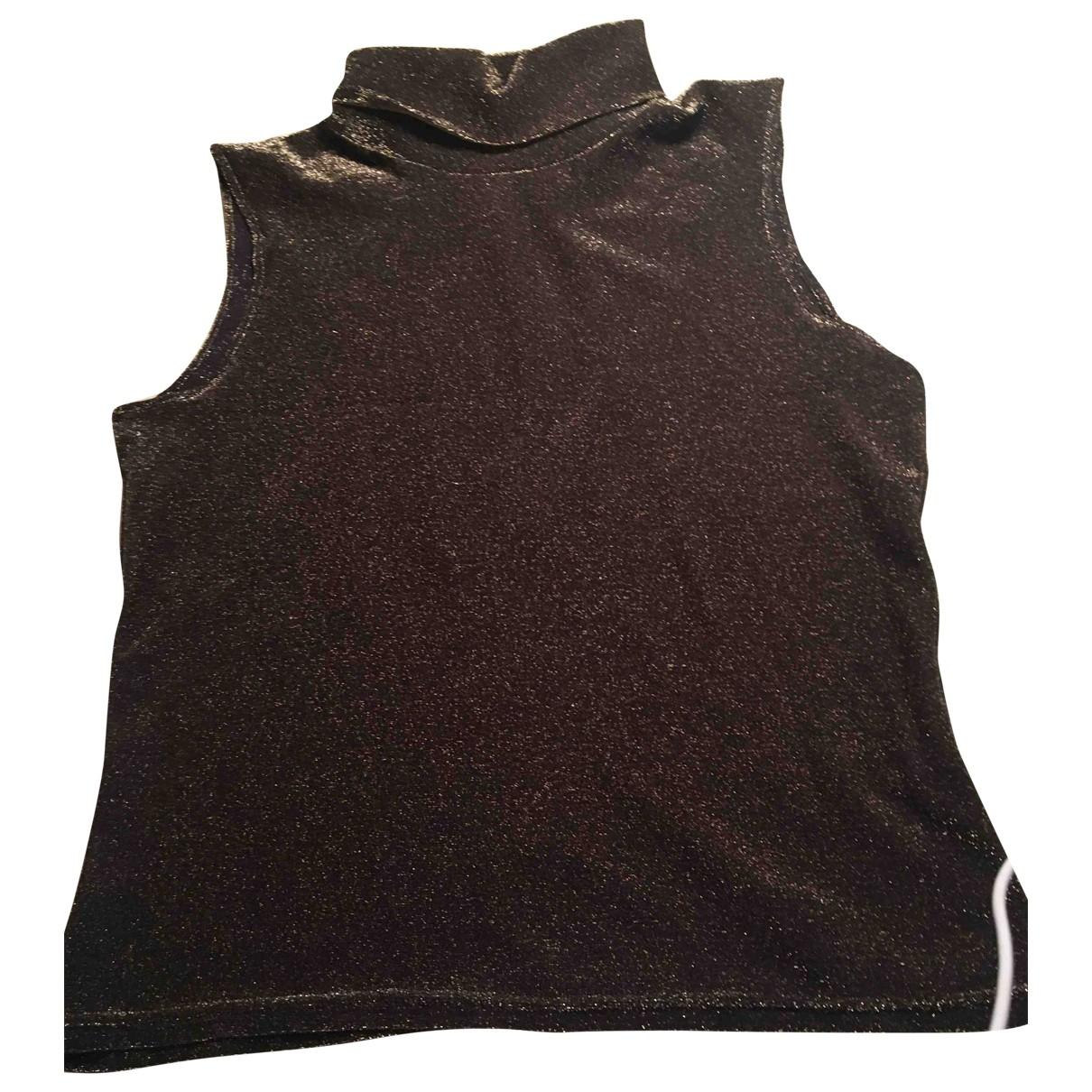 Versus \N Top in  Braun Polyester