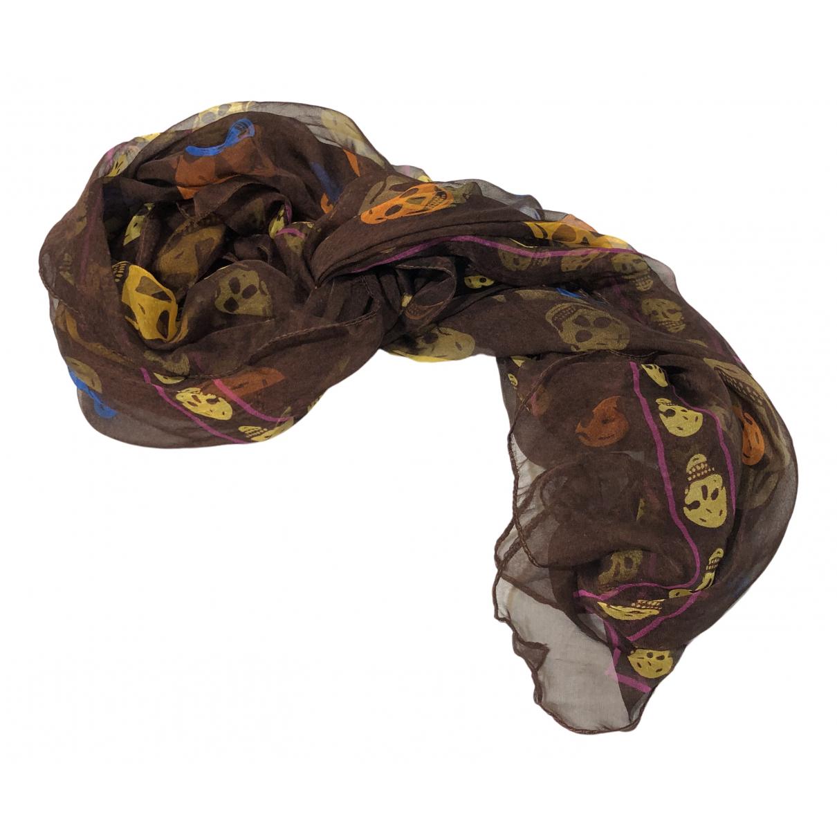Alexander Mcqueen N Silk scarf for Women N