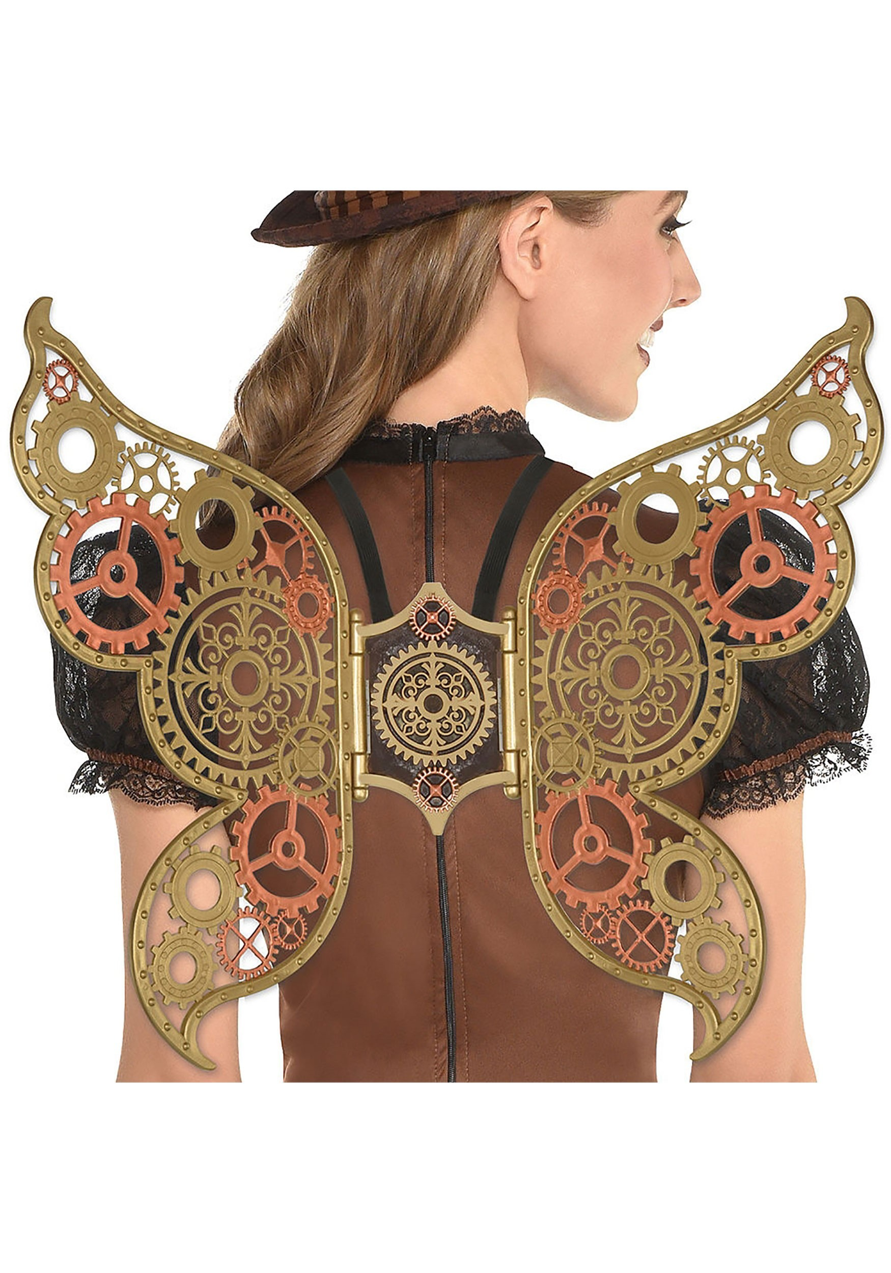 Steampunk Filigree Wings for Adults