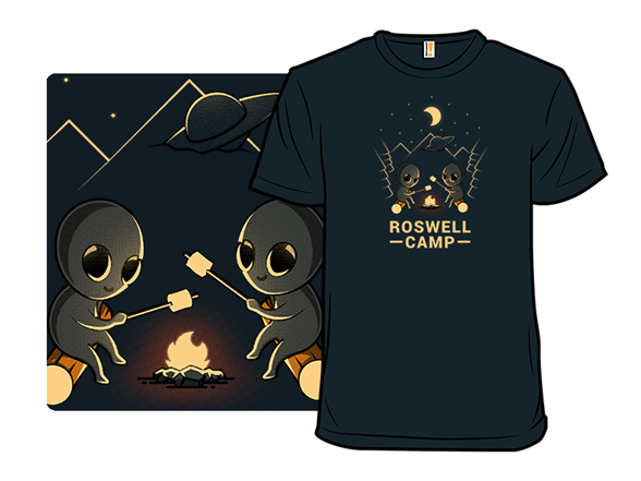 Roswell Camp T Shirt