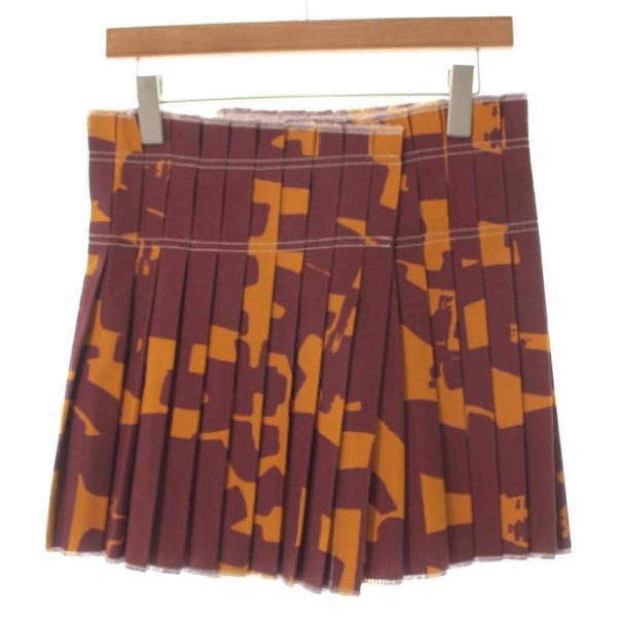 Isabel Marant \N Brown Cotton skirt for Women 36 FR