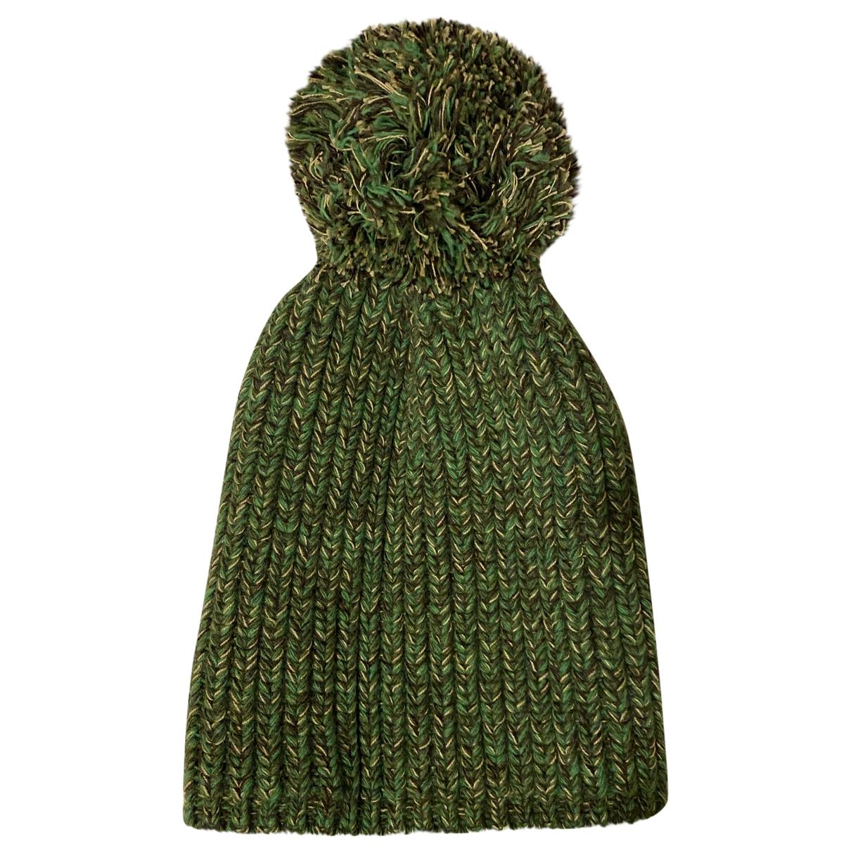 Richard James - Chapeau & Bonnets   pour homme en laine - vert