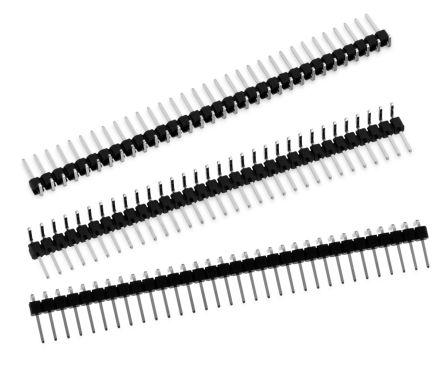 Wurth Elektronik , WR-PHD, 14 Way, 1 Row, Right Angle Pin Header (5)