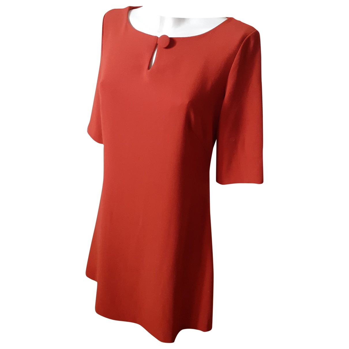 Non Signé / Unsigned \N Orange dress for Women 38 FR
