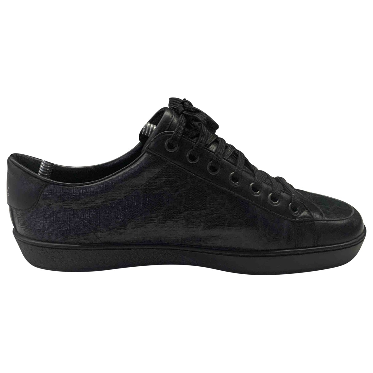 Gucci \N Black Cloth Trainers for Men 6 UK