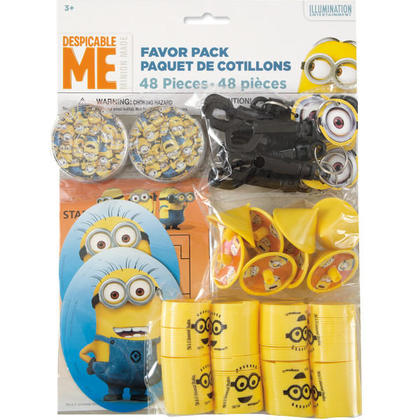 1 Favor Pack 48 pcs. For Birthday Party