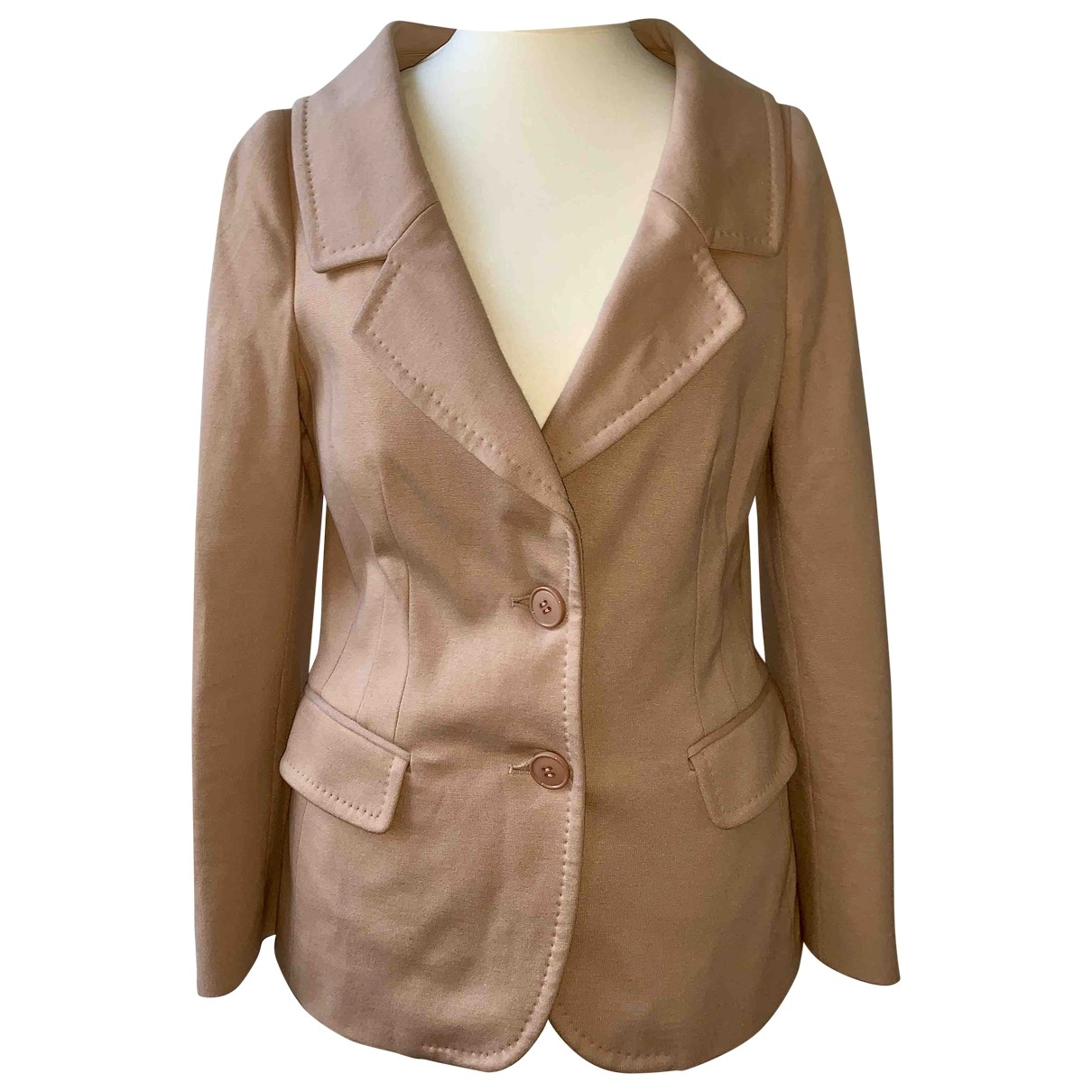 Moschino Cheap And Chic \N Jacke in  Rosa Synthetik