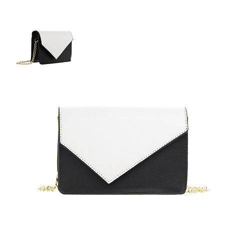 Olivia Miller Color Block Crossbody Bag, One Size , Black