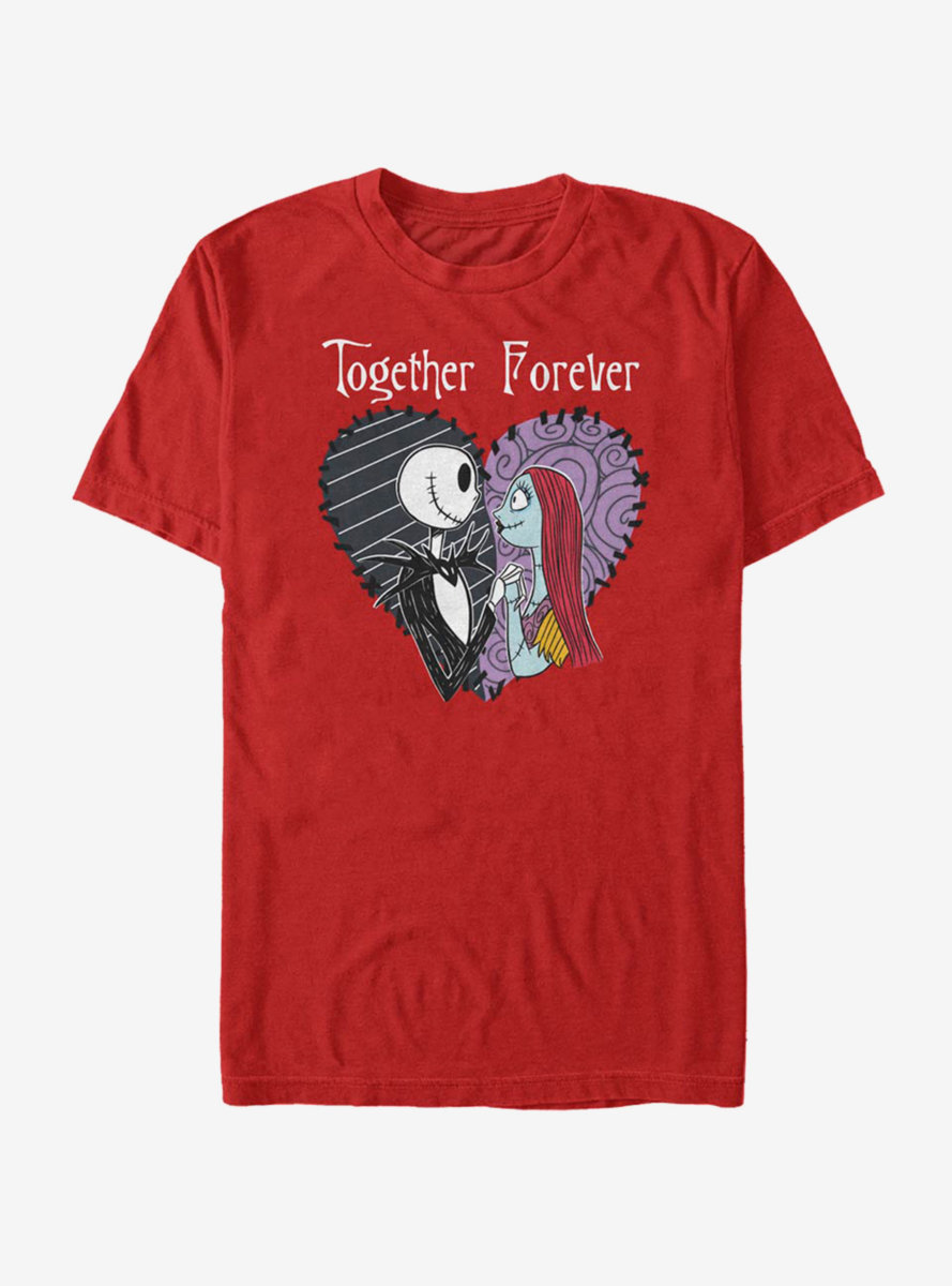 Disney The Nightmare Before Christmas Together Forever T-Shirt