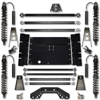 Rock Krawler LJ 3.5 Inch Trail Runner Stage 2 Coilover Long Arm Lift Kit - LJ35TR-S2