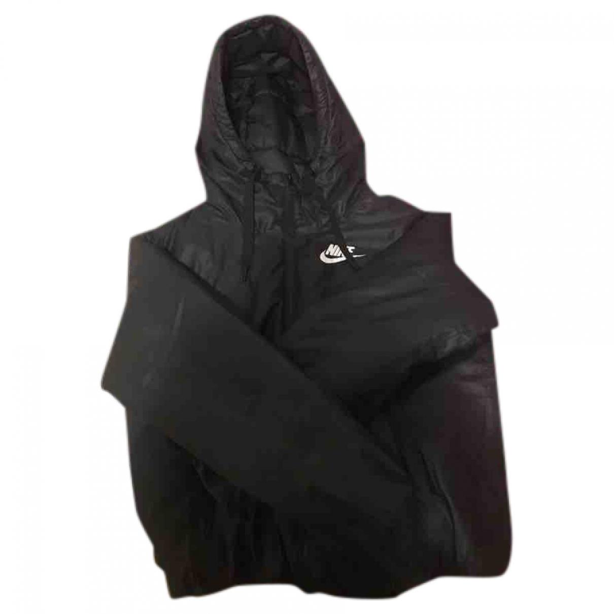 Nike - Veste   pour femme en coton - noir