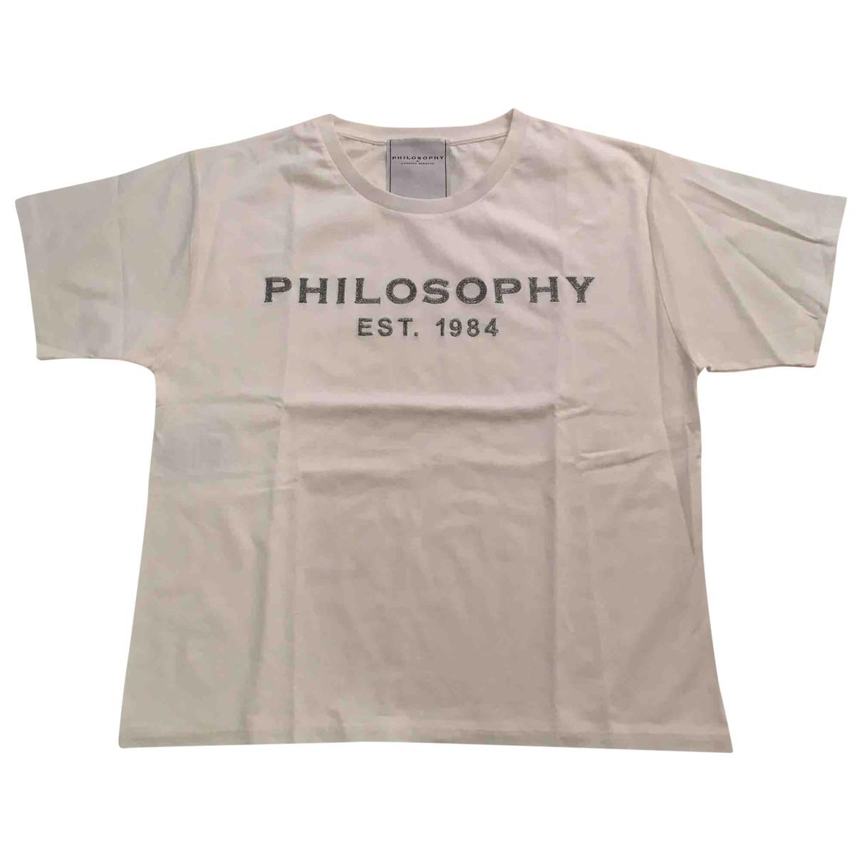 Philosophy Di Lorenzo Serafini - Top   pour femme en coton - blanc