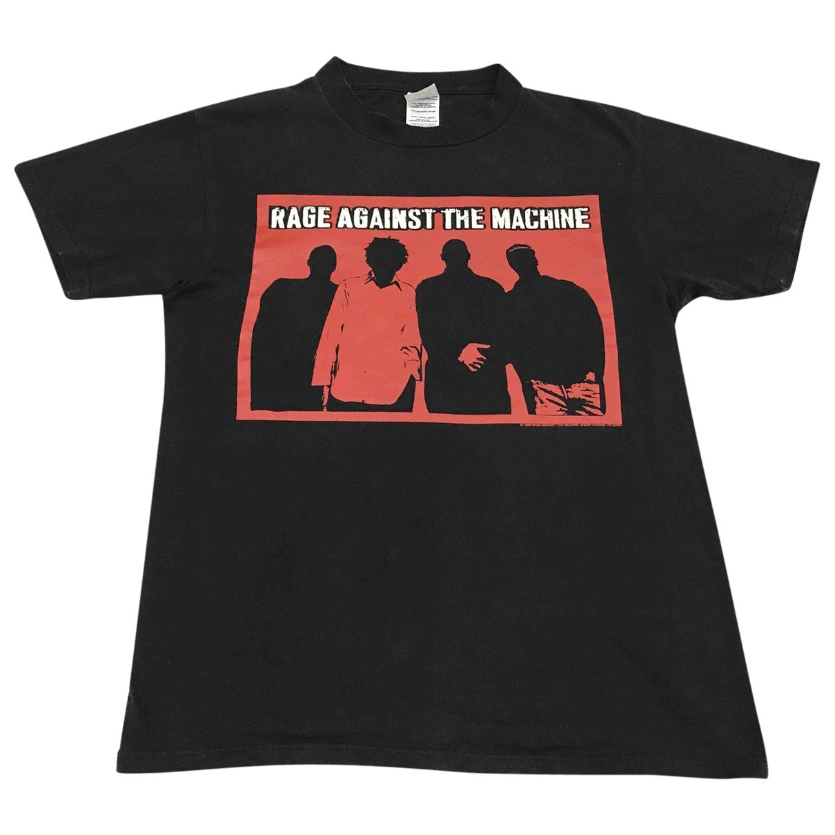 Non Signe / Unsigned \N T-Shirts in  Schwarz Baumwolle