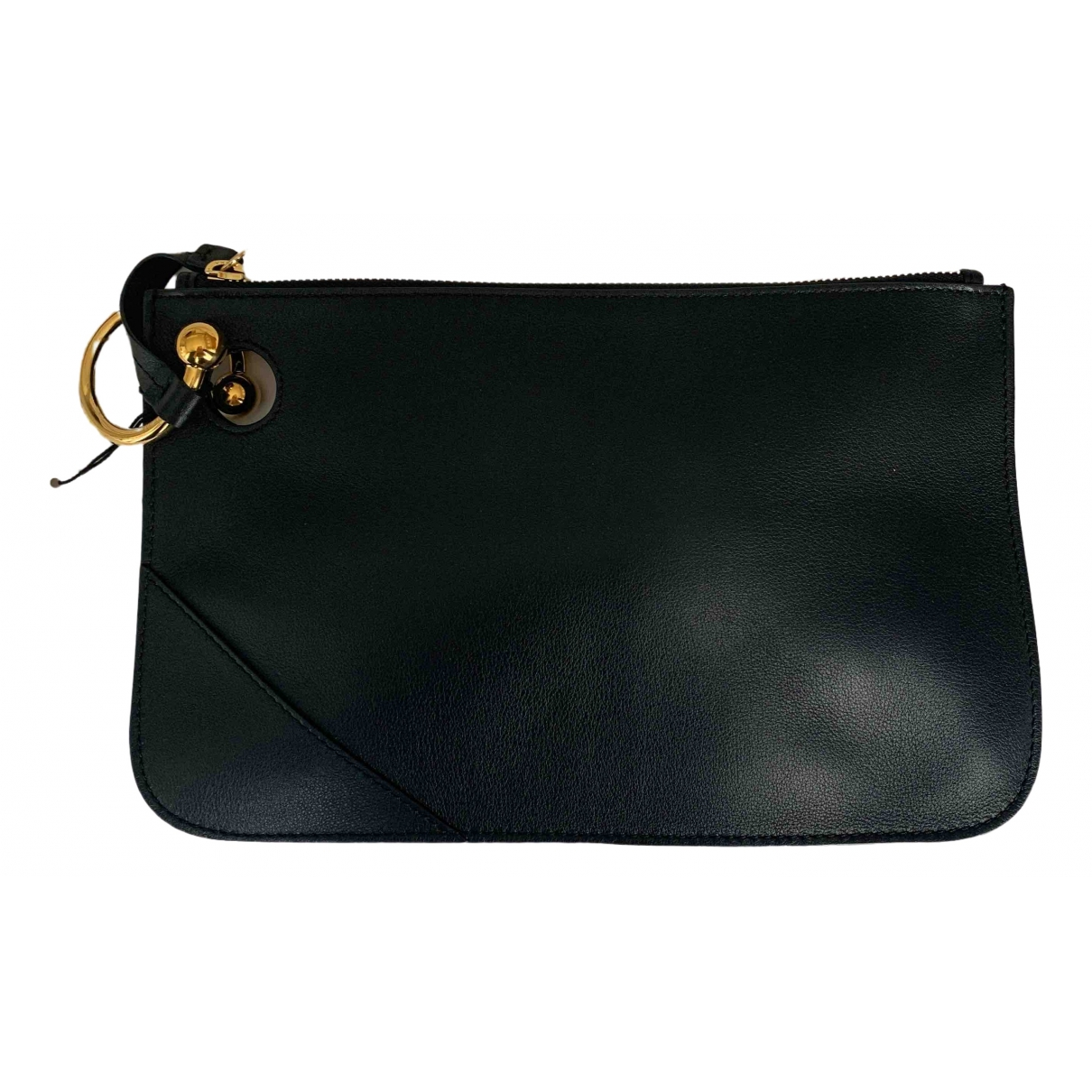 J.w. Anderson \N Black Leather Clutch bag for Women \N
