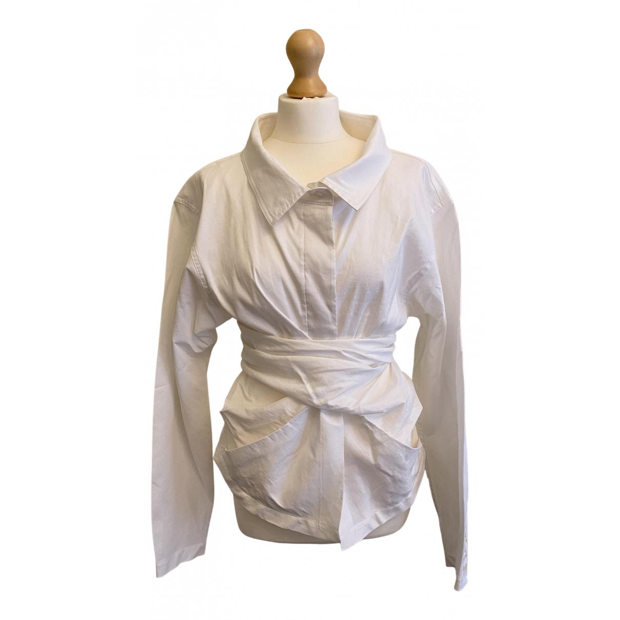 Donna Karan N White jacket for Women 48 FR